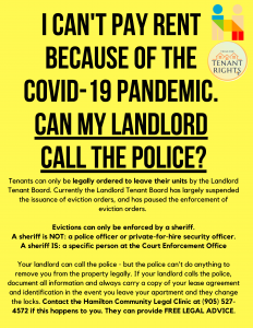 Can my Landlord call the police? poster