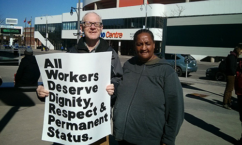 All workers deserve dignity